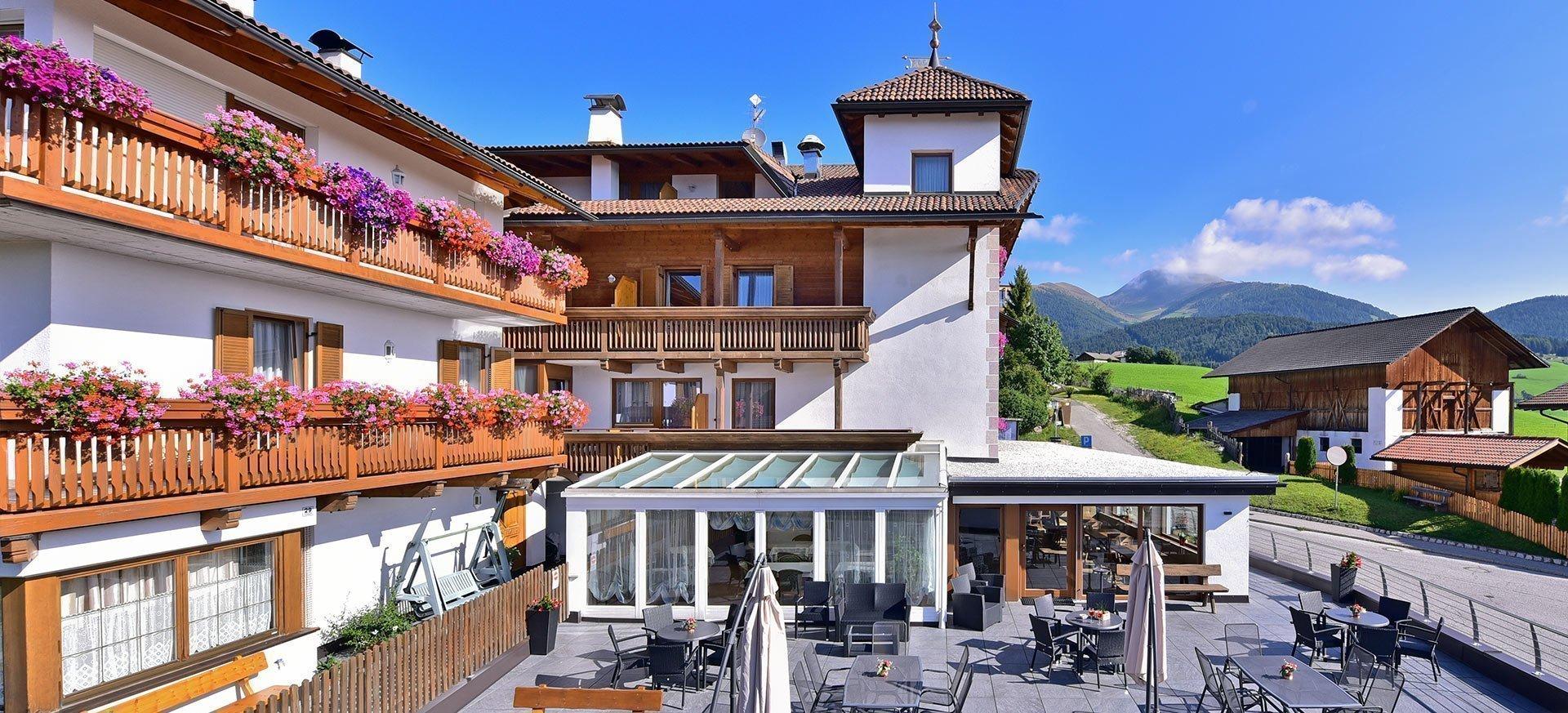Ambiente und Lage: Ihr Hotel für Ihren Erlebnisurlaub in Meransen