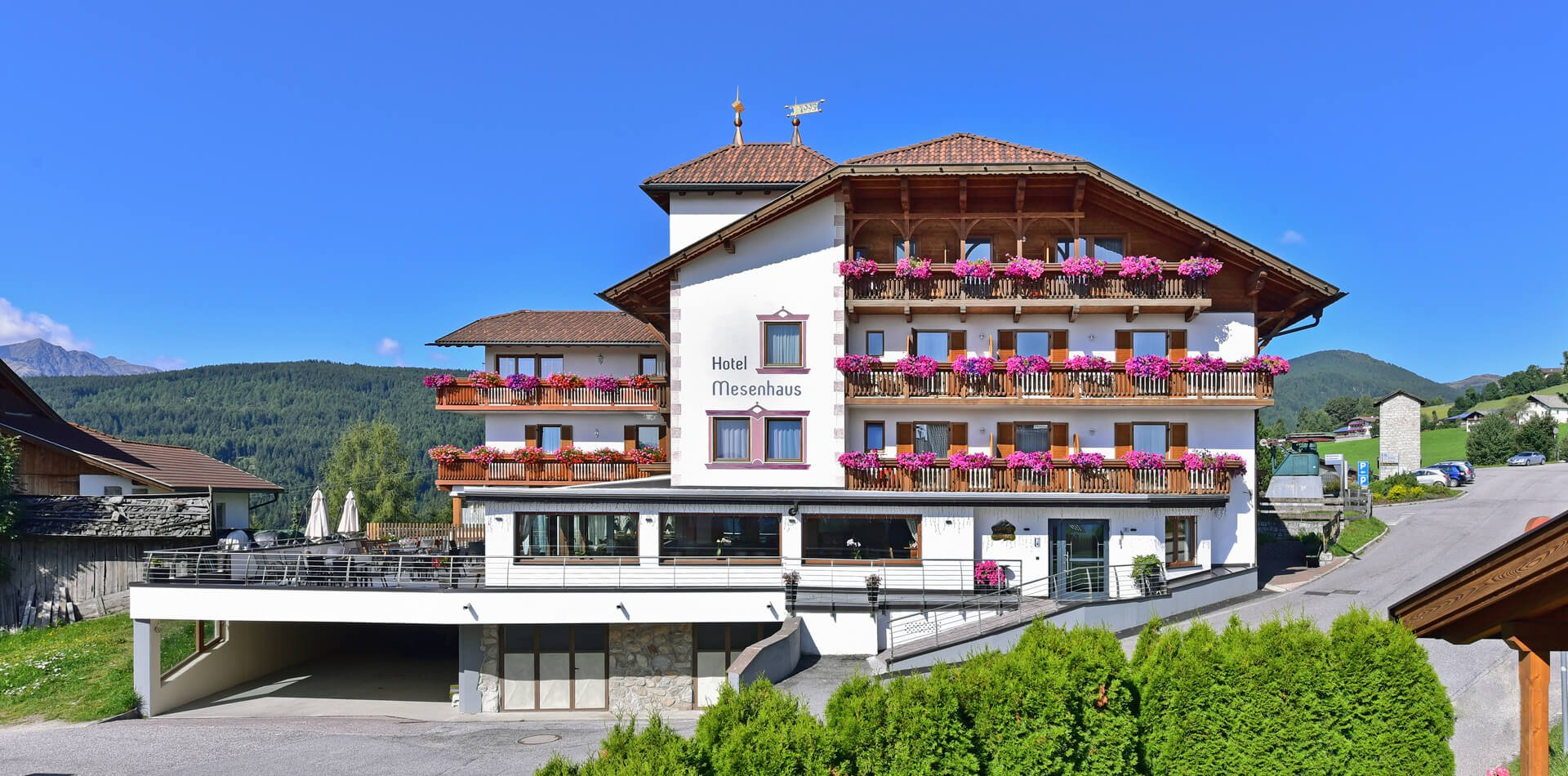 hotel mesenhaus in meransen
