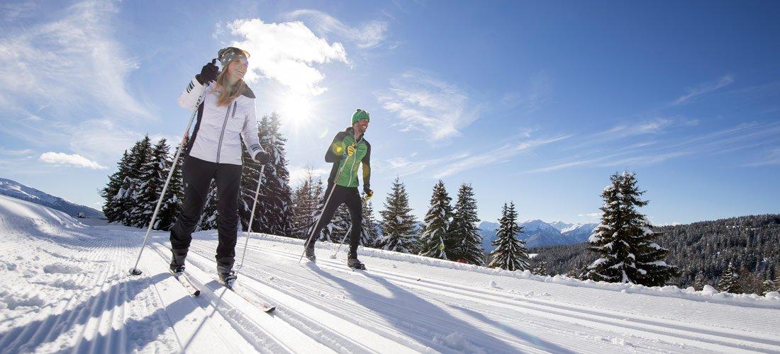 Divertimento senza limiti con lo sci di fondo all'Alpe di Rodengo