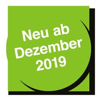 Neu ab Dezember 2019