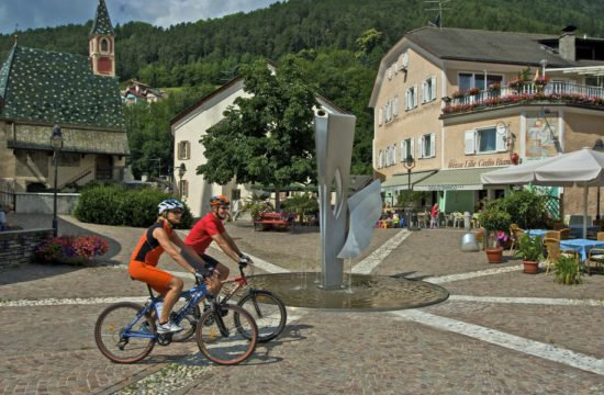 Mountainbike in Mühlbach